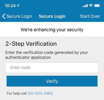 mobile app authentication